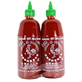 Huy Fong Sriracha Chili Hot Sauce, 28 oz Bottle (Pack of 2) (1 Pack)
