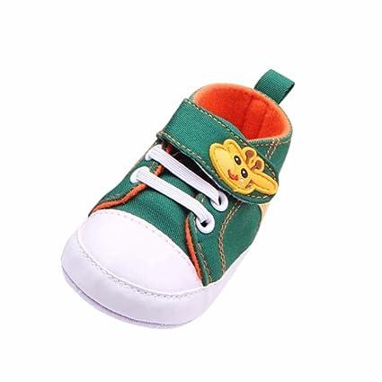 Zapatos De Bebé Botas Patucos Recién Nacido bebé Cuna Zapatos Lindo Zapatillas Antideslizantes bebé Niñas Niños Primeros Pasos para Bebé niños niñas ...