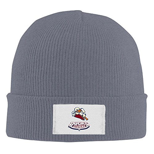 Amone Technology Ducks Winter Knitting Wool Warm Hat Asphalt (Mens Uggs Sale On Slippers)