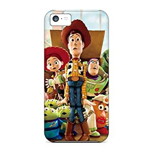 RudyPugh Iphone 5c Scratch Resistant Hard Cell-phone Cases Provide Private Custom Beautiful Toy Story Pattern [MDN12386Dmvl]