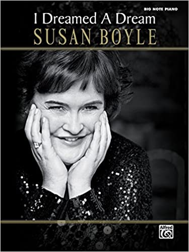 susan boyle i dreamed a dream piano vocal guitar