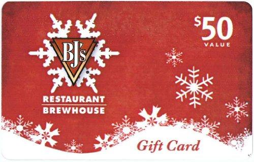 BJ's Restaurant Holiday Gift Card $50