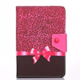 """7"""" Tablet Case,7"""" Universal Faux Leather Stand Flip Case Cover For All 7 inch Tab Andriod Tablet PC / HDX / eBook Reader / Nexus & Nexus FHD / Dell Streak / Tesco Hudl / Allwinner / GoTab"""
