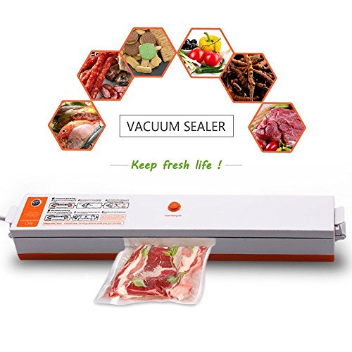 Raking Vacuum Packing Machine Food Sealer Heat Sealer Set...