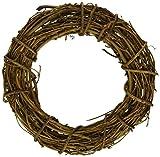 Bulk Buy: Darice DIY Crafts Grapevine Wreath Natural 8 inches (6-Pack) GPV8