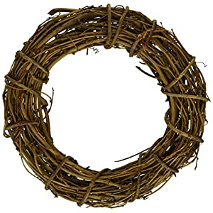 Darice Grapevine Wreaths Natural Color Assorted Sizes 9