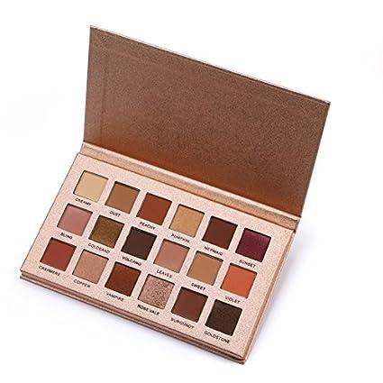 Beatie 18colore ombretto Palette Ombretto opaco Make Up Cosmetici occhio ombra Palette durevole impermeabile per donne e ragazze regalo