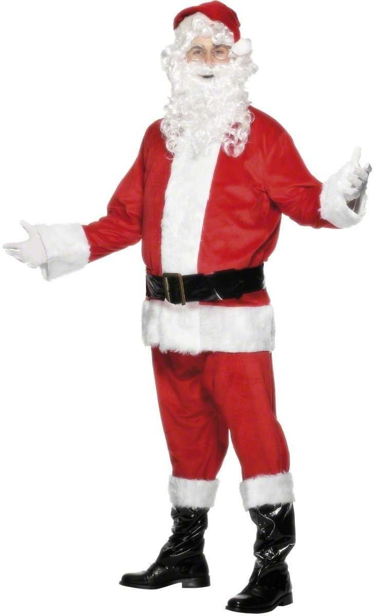 el más barato Smiffy's Disfraz de Papá Noel Completo para Adulto Adulto Adulto L  popular