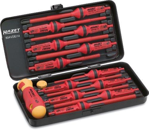 Hazet 804VDE/14 Electric Screwdriver Set by Hazet