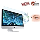 FORITO Eye Protection Screen Protector Compatible Apple iMac 21.5 Inch, Blue Light Blocking Screen Protector Compatible for Apple iMac 21.5'