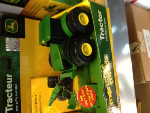 John Deere Monster Morphs Vehicle - 4 Wheel Drive Tractor with Ripper