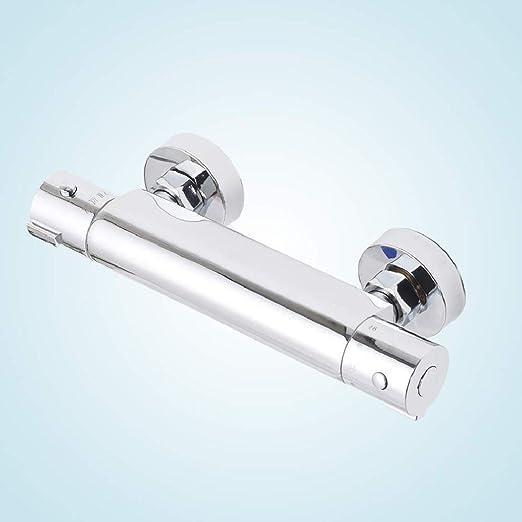 AllRight Brausethermostat Duschthermostat Mischbatterie Duscharmatur Thermostat Chrom Bad