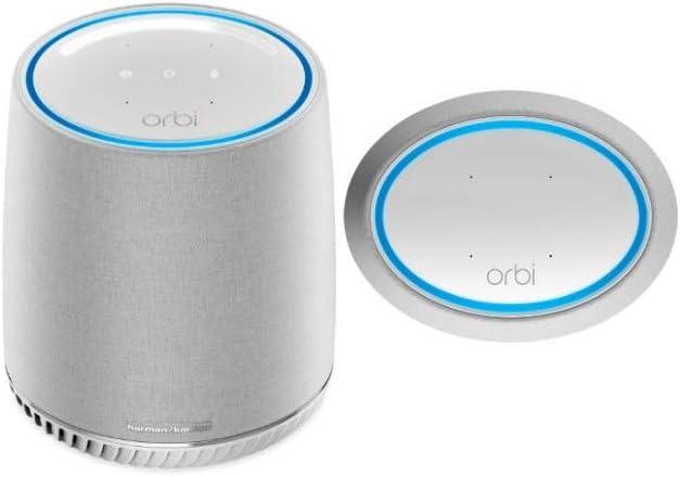 NETGEAR Orbi Voice Mesh WiFi Satellite Extender - (RBS40V), Only Works with Orbi WiFi Systems, Model:RBS40V-100NAS
