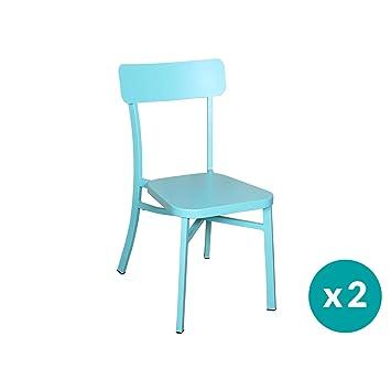 Chaise Micalot Residence 2Couleur BleuJardin De Kc3T1lFJ