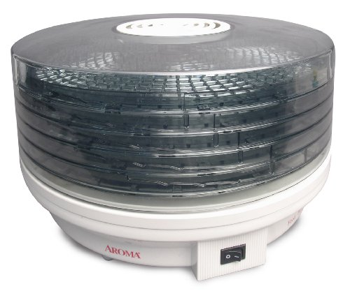 (Aroma Housewares AFD-615 5-Tier Rotating Food Dehydrator)