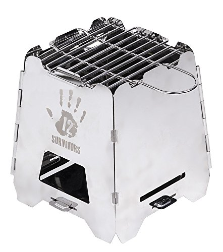 12 Survivors Off-Grid Survival Stove For Sale