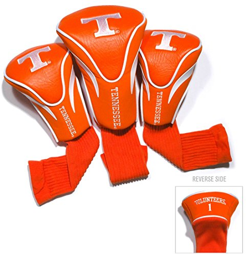 Team Golf - Tennessee Volunteers Golf Club 3 Piece Contour Headcover (3 Contour Sock Headcovers)