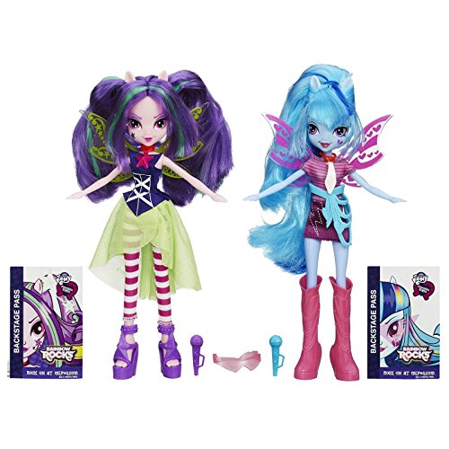 My Little Pony Equestria Girls Aria Blaze and Sonata Dusk Doll 2-Pack New ,#G14E6GE4R-GE 4-TEW6W230091