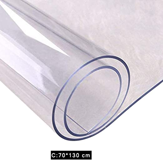 iBàste - Mantel de PVC Transparente, Resistente al Agua, plástico ...