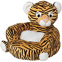 Trend Lab Childrens Plush Character Chair, Tiger, Orange