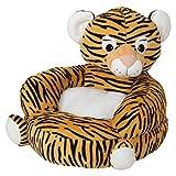 Trend Lab Children's Plush Character Chair, Tiger, Orange