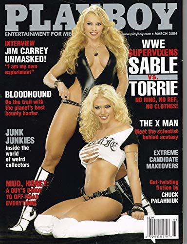 Torrie Wilson Signed March 2004 Playboy Magazine BAS Beckett COA WWE Autograph - Beckett Authentication