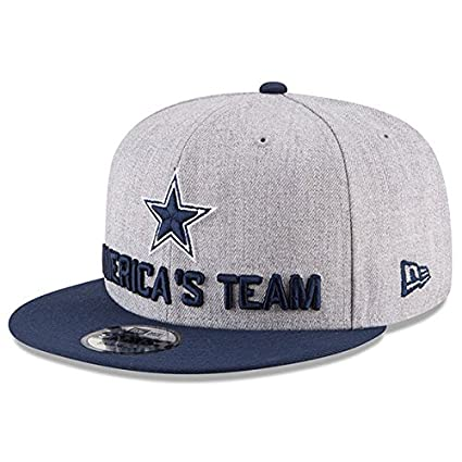 47a81482a83f3d Amazon.com : Dallas Cowboys New Era 2018 Draft Mens 9Fifty Cap : Clothing