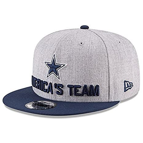 ddfe3535735 Image Unavailable. Image not available for. Color  Dallas Cowboys New Era  2018 Draft Mens 9Fifty Cap