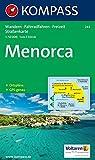 Kompass Karten, Menorca (KOMPASS-Wanderkarten, Band 243)
