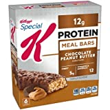 Kellogg's Special K Bar, 12 Grams of Protein, Chocolate Peanut Butter,...