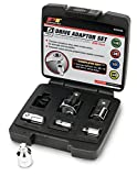 Performance Tool W30939 Drive Adaptor Set With Case