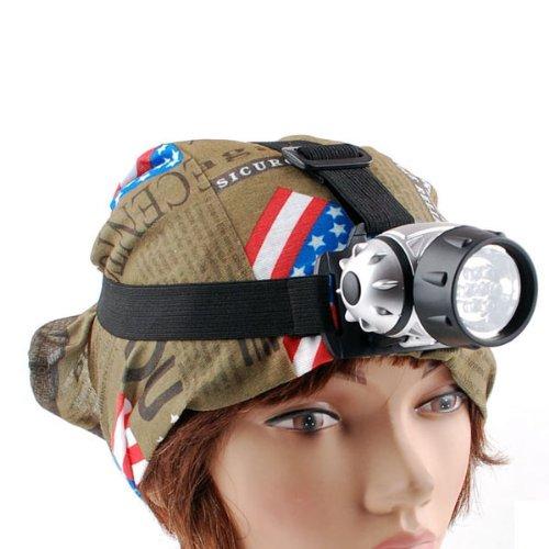 Rextin® NEW Super Bright Portable 7 LED Miner headlamp Headlight Mining Waterproof Fishing Camping Hiking Light Lighting