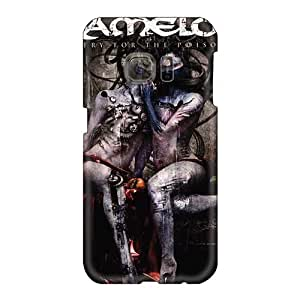 Shock Absorption Hard Phone Covers For Samsung Galaxy S6 With Support Your Personal Customized Fashion Kamelot Band Skin JoanneOickle