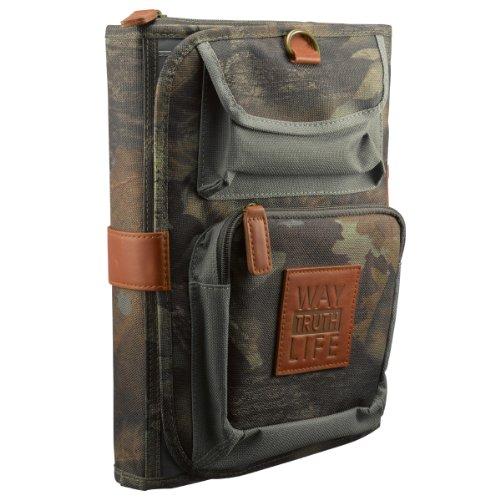 Tri-Fold Realtree Camo Bible / Book Organizer w/