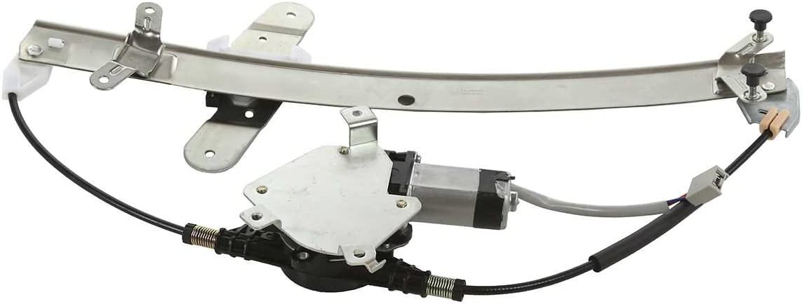 AutoShack WR841688 Front Driver Side Power Window Regulator with Motor