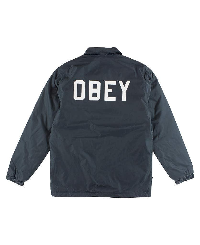 Amazon.com: Obey de los hombres Sanders Coaches Jacket: Clothing