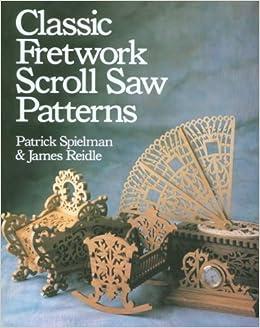 Book Classic Fretwork Scroll Saw Patterns