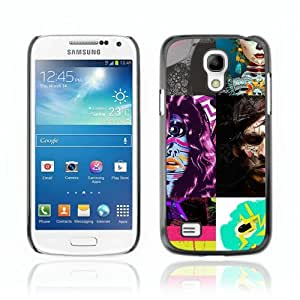 Designer Depo Hard Protection Case for Samsung Galaxy S4 Mini / Abstract Picture
