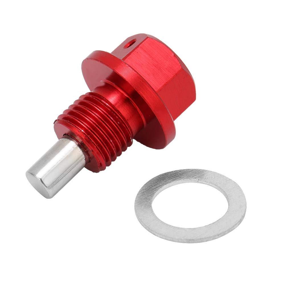 Motor Tank Ablassschraube 1,25 Aluminium Legierung Auto Magnetische Motor /Ölwanne Ablassschraube Rot m12