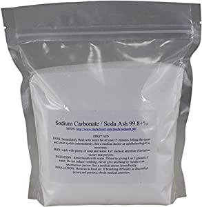 8 oz pure sodium carbonate dense soda ash na2co3 ph adjust chemical spa pool for How to add soda ash to swimming pool