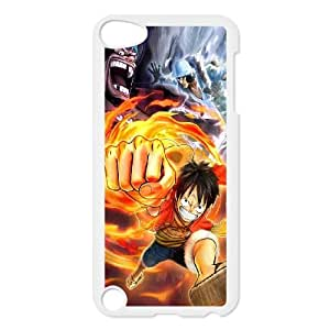 Cute TPU Monkey D Luffy iPod Touch 5 Case White