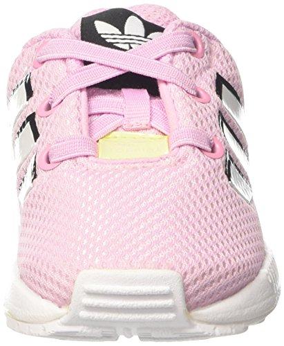 adidas ZX Flux el I, Zapatillas Unisex Bebé Rosa (Frost Pink F14/ftwr White/ftwr White)