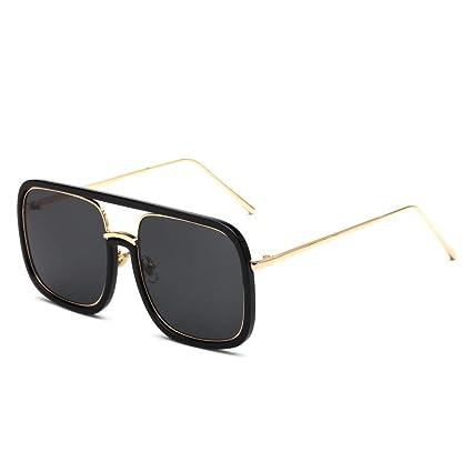 BiuTeFang Gafas de Sol Mujer Hombre Polarizadas Marca de Gafas de Sol Mujer  Europea y Americana 4afd46a83c28