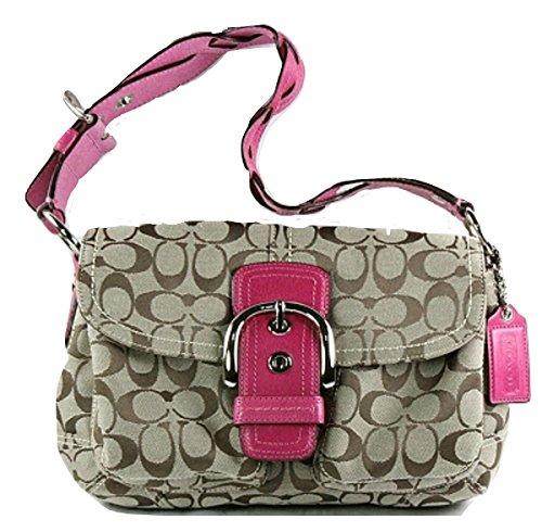 Coach Soho Pocket Flap Shoulder Bag Purse 11862, (Soho Coach Purse)