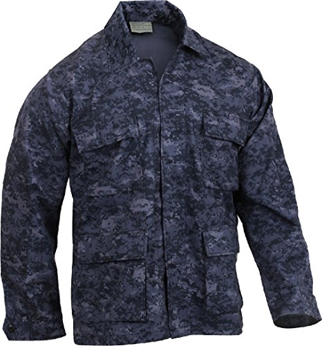 Military BDU Shirt Tactical Uniform Army Coat Camouflage Army Fatigue Jacket -