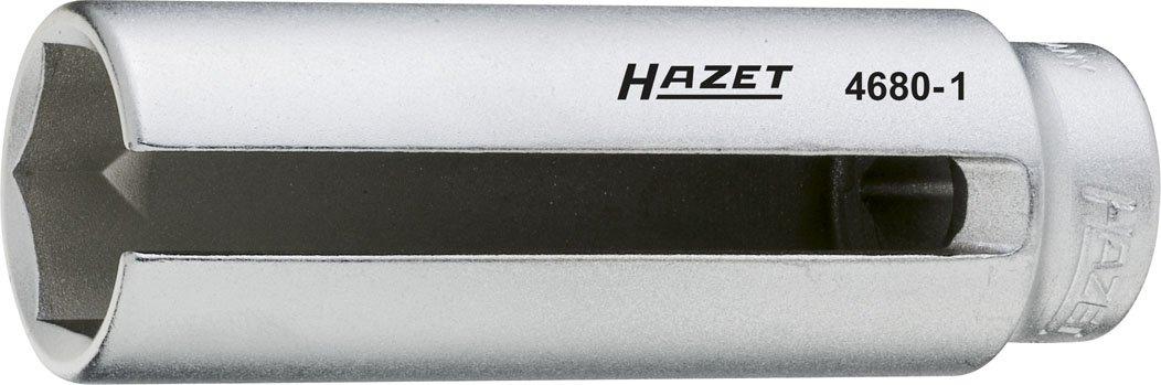Hazet 4680-1 Inserto per Sonda Lambda, Argento, Attacco Quadro, Cavo, 12.5 mm 1/2 di Pollice