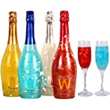 魔幻星空气泡酒 香槟酒 网红起泡酒 魔幻云火焰酒 整箱红酒4瓶女士酒(送香槟杯两支)