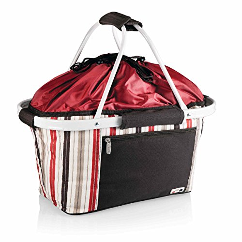 Picnic Time Outdoor Decorative Portable Metro Basket - Moka Collection ()