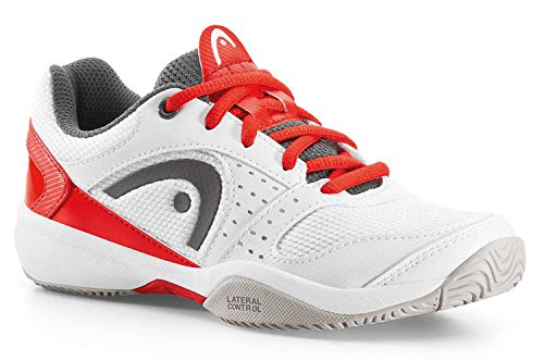 Zapatillas de tenis Head Niños Running Tenis Sprint LDT. Junior Blanco/Rojo White/Flame
