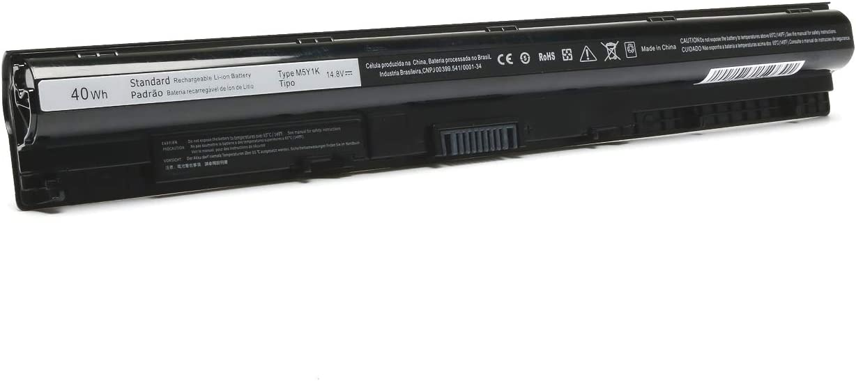 40WH M5Y1K Laptop Battery Replace for Dell Inspiron 14 3451 3452 17 5755 Inspiron 15 3000 5000 3551 5558 5559 5759 Vostro 3458 3459 3468 3558 Series Fit K185W WKRJ2 VN3N0 HD4J0